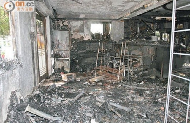 An Alleged Galaxy S4 Explosion Completely Destroyed This Apartment
