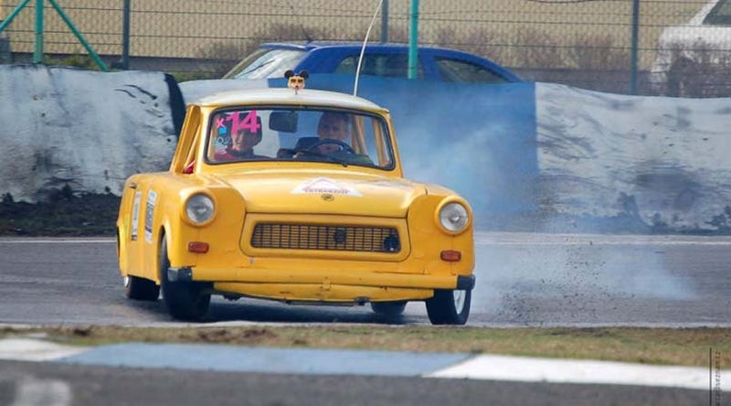 Crazy Czechs Build Tatra V8-Powered Trabant Drift Car, Will Sell It To You!