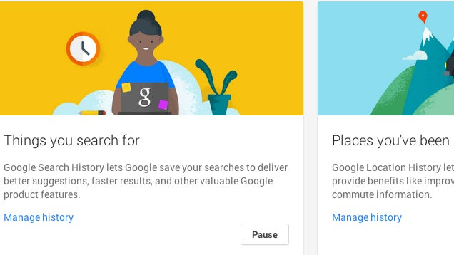 Google's New Account History Page Helps Further Control Your Privacy