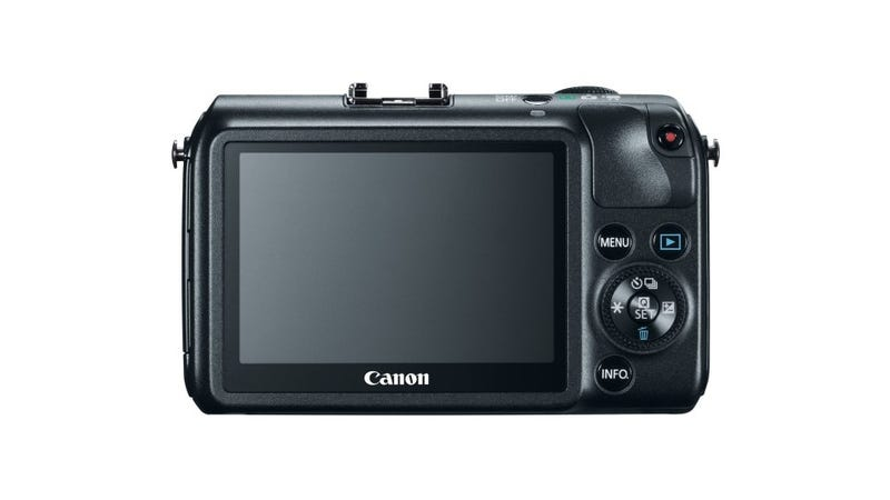 Canon EOS M: Finally, a Tiny Camera Designed to Slurp HD Video That Slays