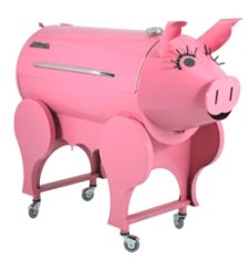 Every Pig's Worst Nightmare: A Barbecue Shaped Like a Pig