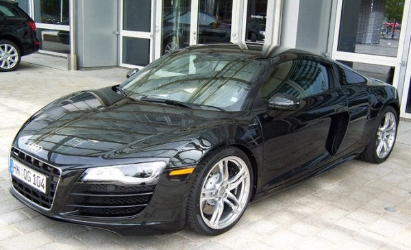 2009 Audi R8 V10 Captured Totally Uncloaked