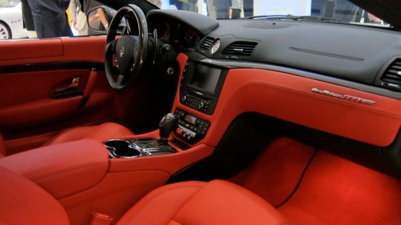 Maserati GranTurismo MC live photos