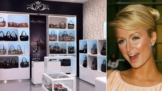 Paris Hilton Shilling Handbags in Muslim Holy Site's Shadow