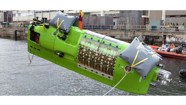 James Cameron's New Sub Will Take Him To the Deepest Spot On Earth