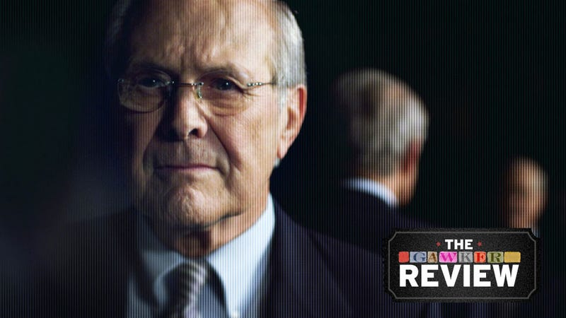 "Sharper Than a ""Hatchet Job,"" The Unknown Known Lets Rumsfeld Speak"