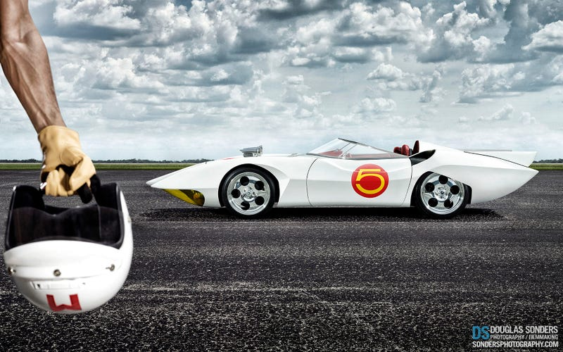 Free Wallpaper Of The Real Mach 5 To Start Your Weekend Off Right