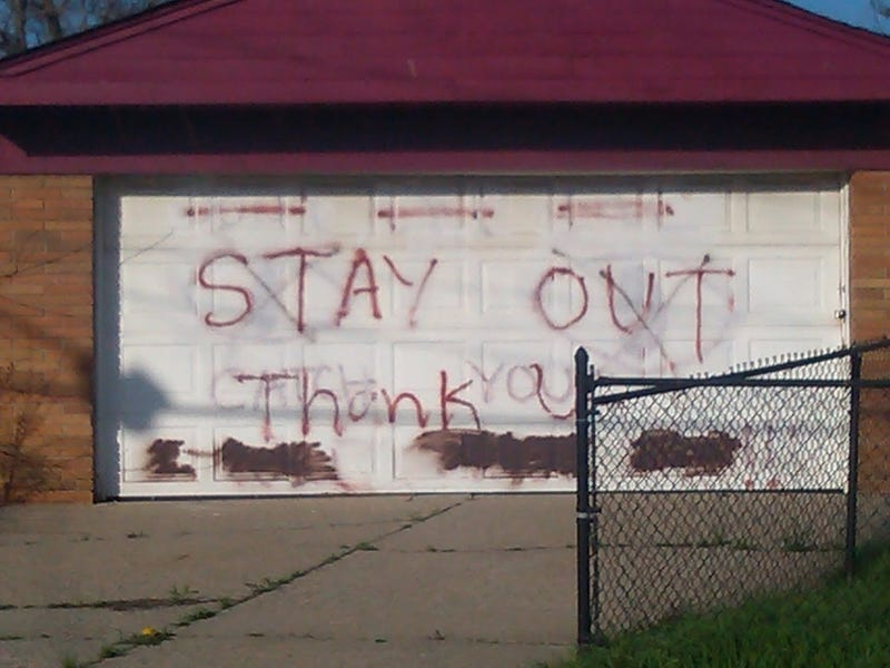 Maybe You Won't Get Shot For Breaking Into This Detroit House