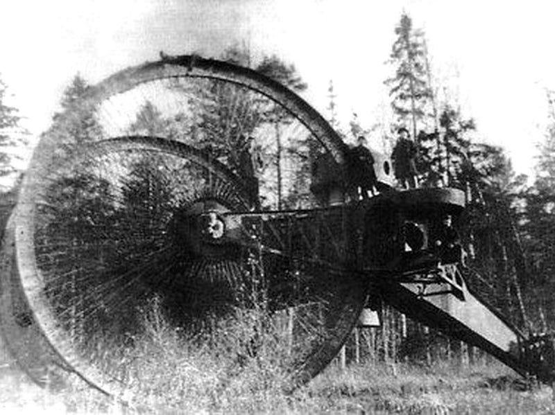 Diseño de armamento histórico que jamás habías oído
