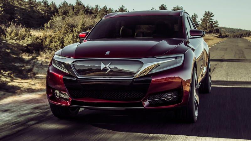 The DS Wild Rubis Concept Is Citroën's Future SUV