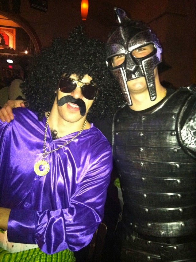 Evgeni Malkin And Sidney Crosby Are: Hairy Guy And Gladiator