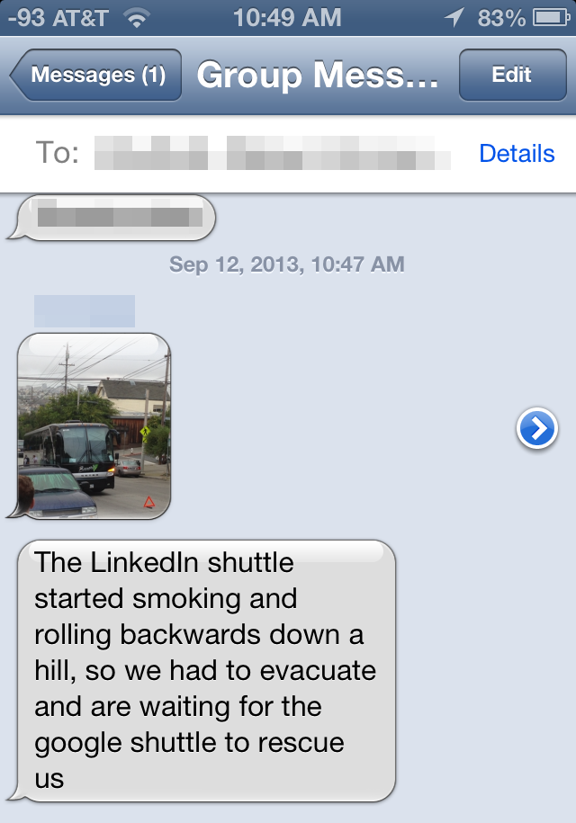 Bourgeois Crisis: The LinkedIn Shuttle Is Broken