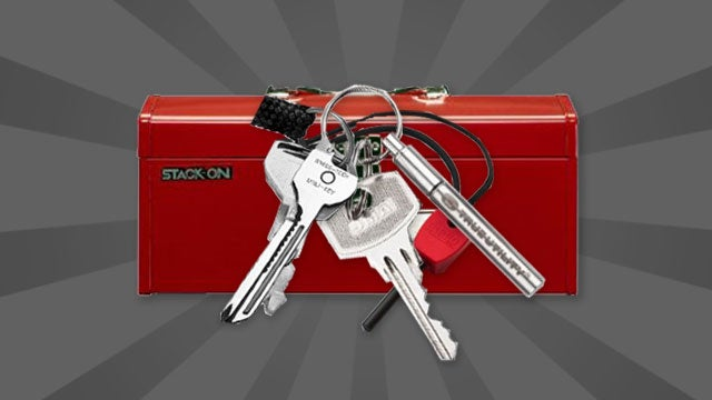 Turn Your Keychain into a Pocketable Toolbox