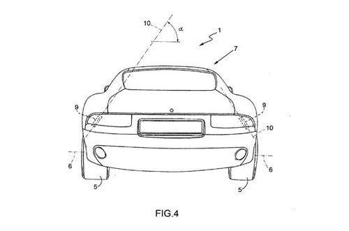 Ferrari Door Patent Drawings