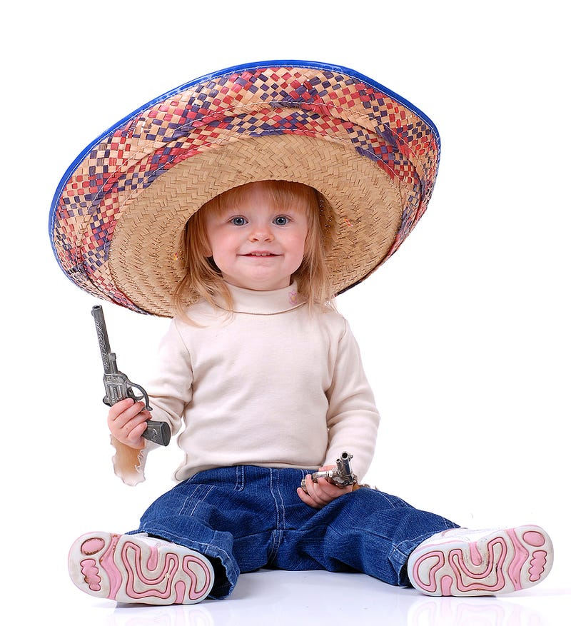 Stock Photos of Children With Guns, Ranked