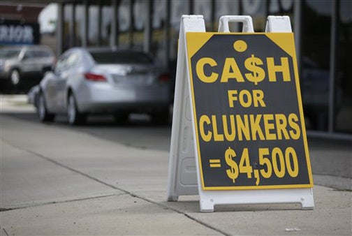 Cash For Clunkers Still Running