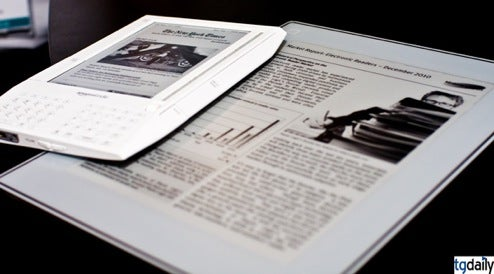 Plastic Logic's E-Reader Shown on Video, More Details Emerge