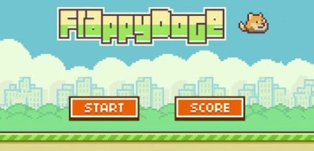 Descarga Flappy Doge, el juego que te hará olvidar Flappy Bird