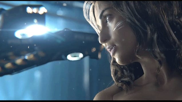 6 GIFs from that Striking Cyberpunk 2077 Trailer