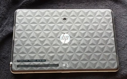 HP Slate Tablet Rears its Square-Edged Head in Leaked Video