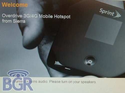 Sprint to Get 4G Mobile Hotspot From Sierra Wireless Soon