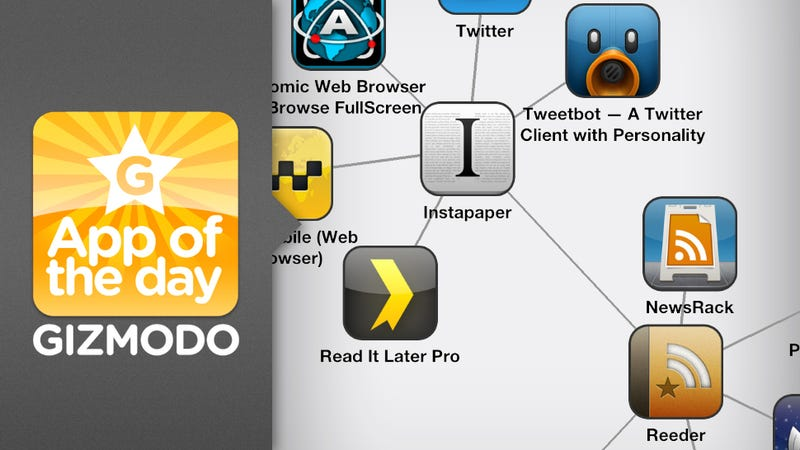 Discovr Apps for iPhone: A Lovely Web of App Recommendations