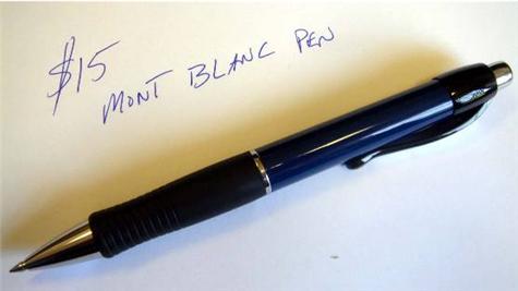 Convert a $3 pen into a $200 pen