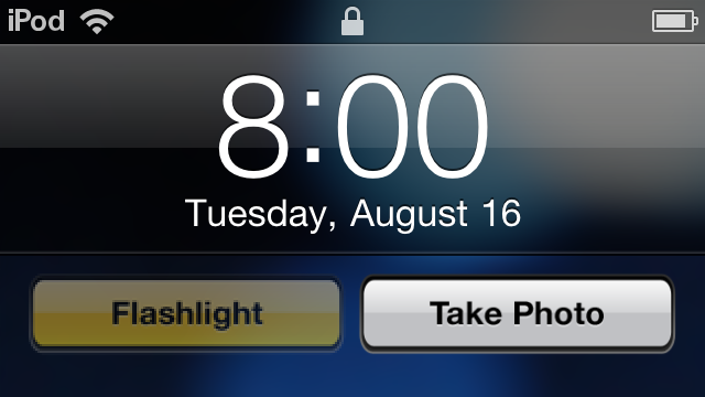 FlashCam Puts a Camera Shortcut, Flashlight Button on Your iOS Lock Screen