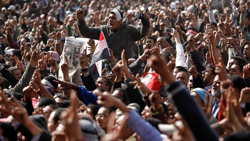 Government Officials Join the Protesters in Egypt