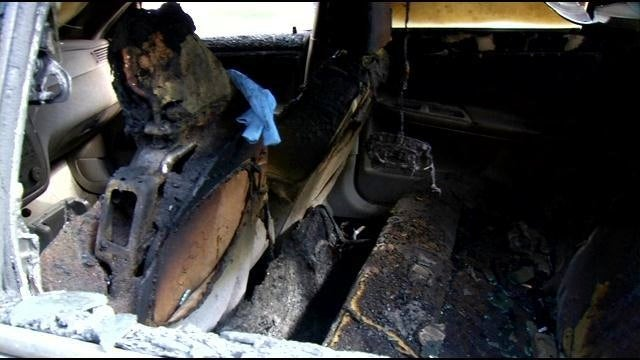 Kentucky Man Sets Self on Fire Attempting to Firebomb Car, Escapes