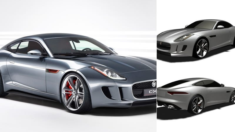 Are Those F-Type Coupe Patent Drawings For The Car Or The Concept?