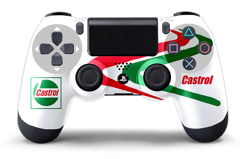 Custom racing livery for my controller?