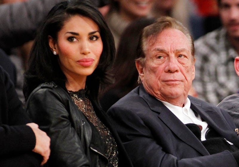 """V. Stiviano Text With Audio To Clippers Employee: """"LET THE GAMES BEGAN"""""""