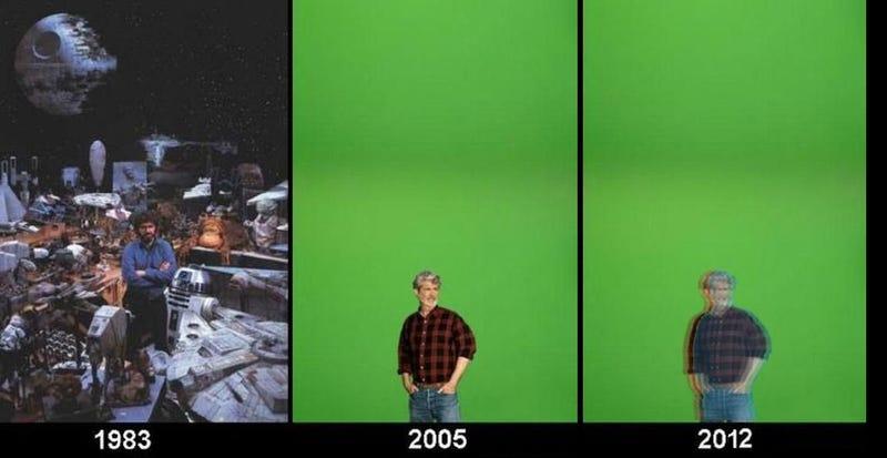 Star Wars '83, Star Wars '05, Star Wars '12