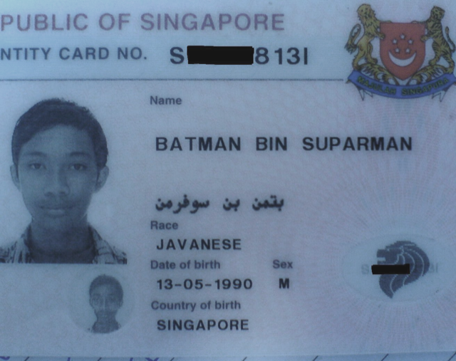 "A Man Named ""Batman, Son of Superman"" Sent to Prison. (Really.)"