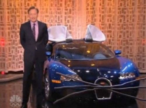 Conan O'Brien's $1.5 Million Bugatti Veyron Mouse