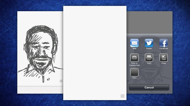 Ink Is a Quick Loading and Simple Sketchpad for Fast Idea Capture