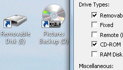 Desktop Media Puts Removable Drive Icons on Your Desktop
