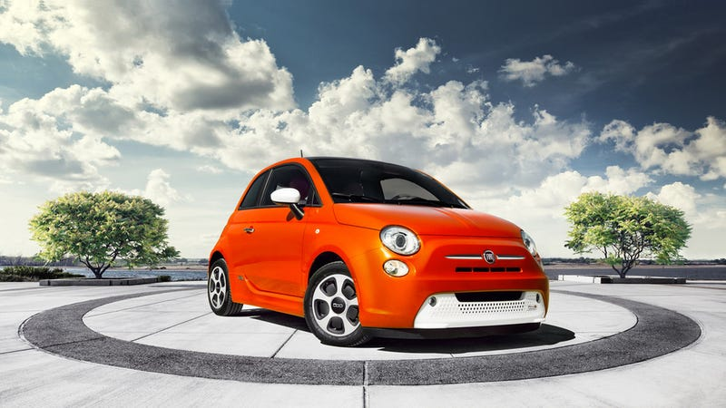 Fiat Will Give Rental Cars To 500e Owners That Want To Drive Far Away