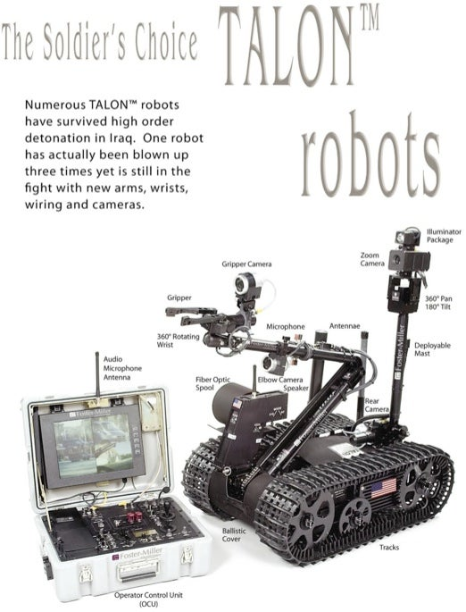 First Fully-Armed Robots Patrolling in Iraq; First Shots Imminent