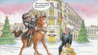 Bernie Ecclestone's Christmas Card Brags About His $100 Million Bribe