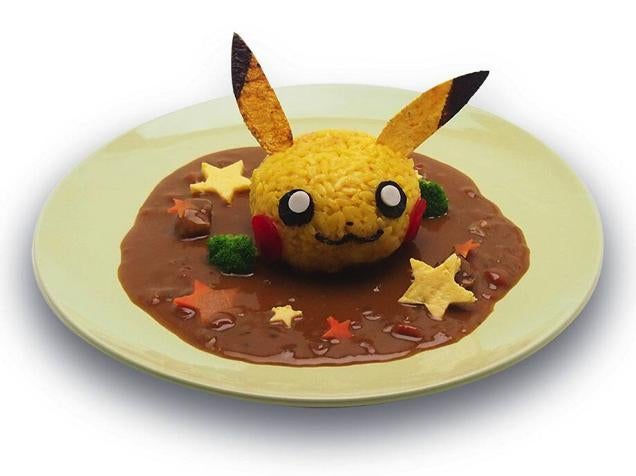 Japan's Pikachu Cafe Serves Pikachu Burgers and More