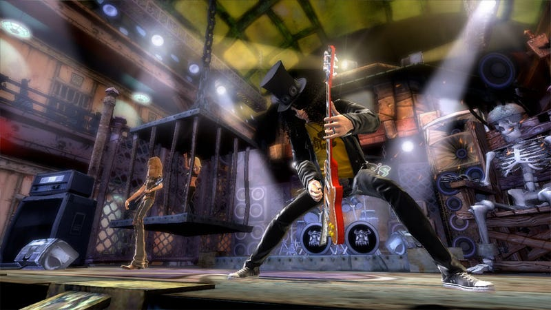 Axl Rose Sues Guitar Hero Maker For Putting Slash In Its Game