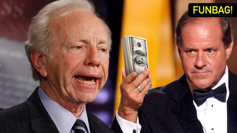 Wait, Chris Berman Gave How Much Money To Joe Lieberman?!