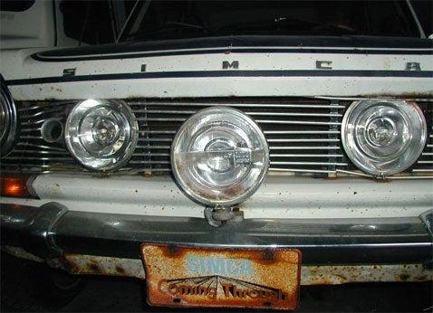 1969 Simca 1204 Factory Rally Car