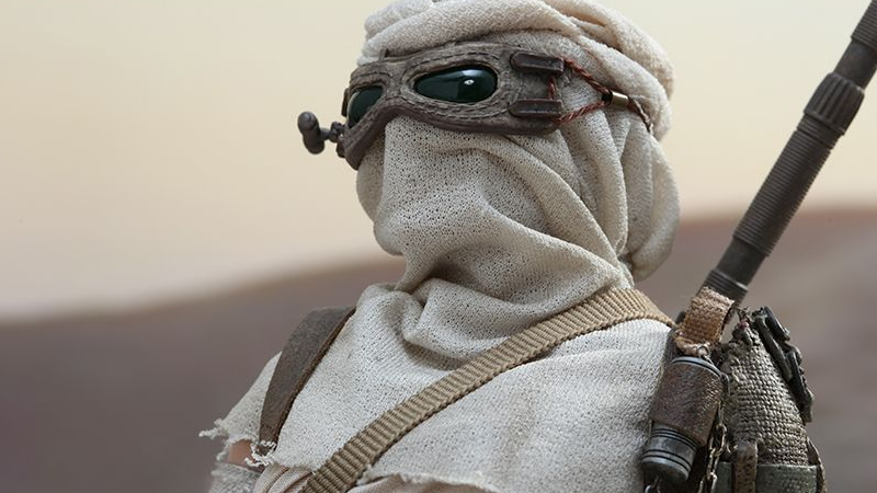 Gaze Into the Gigantic Eyes of Hot Toys' Rey Figure