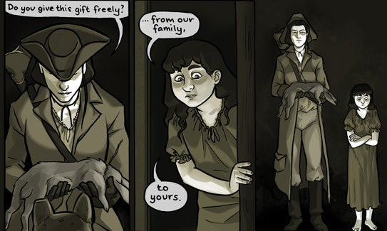 Eight Horror Webcomics to Read in the Dark