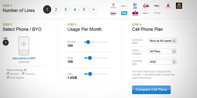 WhistleOut Compares Tons of Cellphone Plans, Finds You the Best