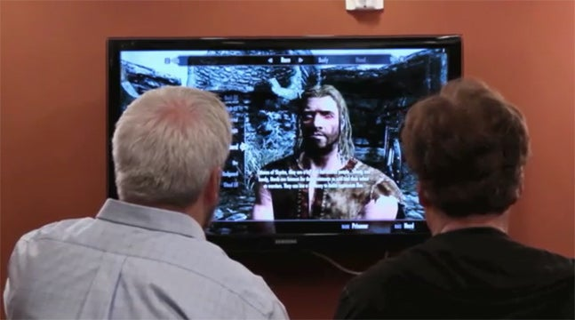 "Conan O'Brien Plays Skyrim as ""Mr. Buttons"""