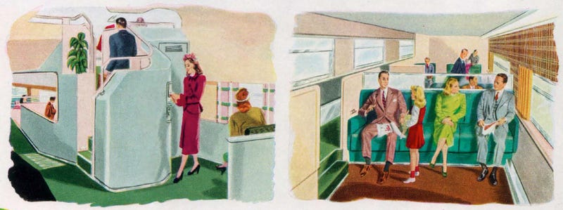 This 1947 Train of Tomorrow Puts Today's Trains to Shame